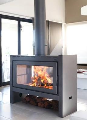 Uke fabrica de estufas hogares hornos y parrillas a le a for Lenos a gas modernos
